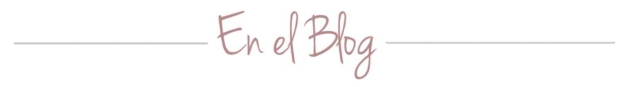 En el blog